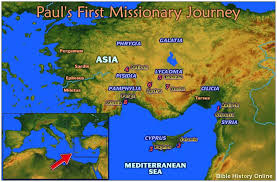 paul missionary journey